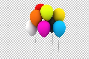 Balloon - 3D Render PNG