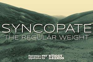 Syncopate Pro - Regular