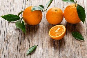 Organic oranges.