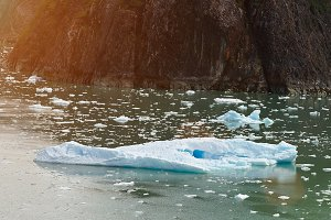 One big iceberg