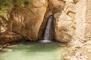 Mountain Oasis Chebika, Tunisia.