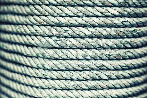 Marine rope background