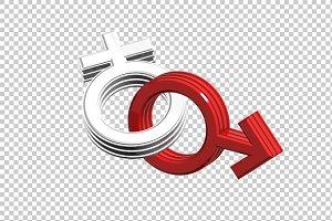 Sex Symbol - 3D Render PNG