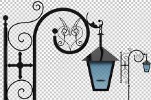 Street Lamp - 3D Render PNG
