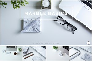 Styled Stock Photos | Marble Basics