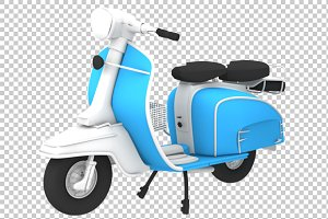 Scooter - 3D Render PNG