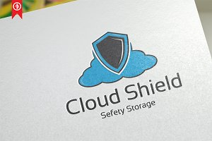 Cloud Shield/Protect - Logo Template