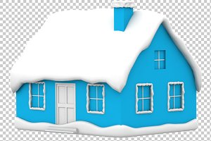 House - 3D Render PNG