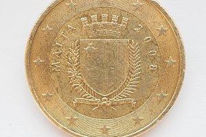 Malta Euro coin
