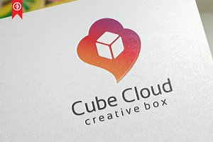 Cube Cloud / Creative - Logo Templat