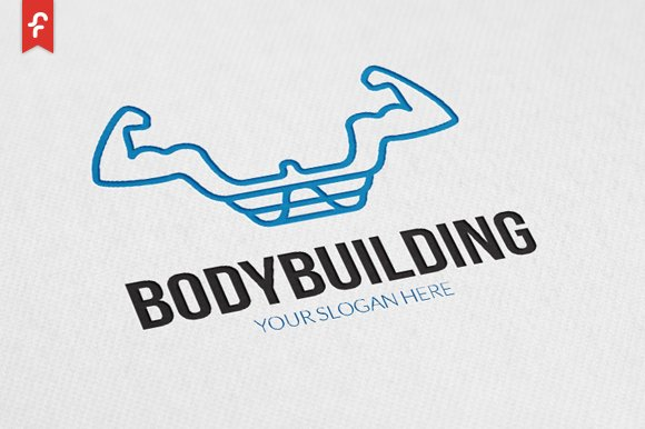 Body Building Logo