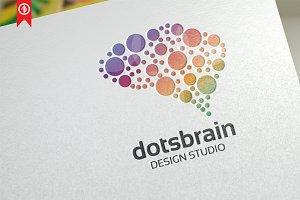 Dots Brain / Creative - Logo Templat