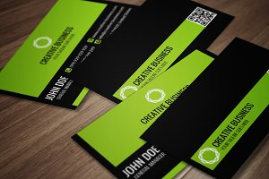 Modern Corporate Business Card CM015