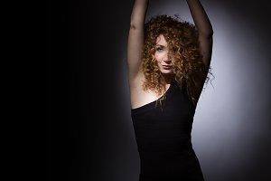Sexy girl dancing.