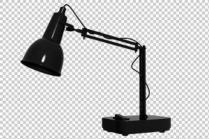 Study Lamp - 3D Render PNG