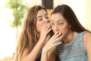 a friend is telling secrets