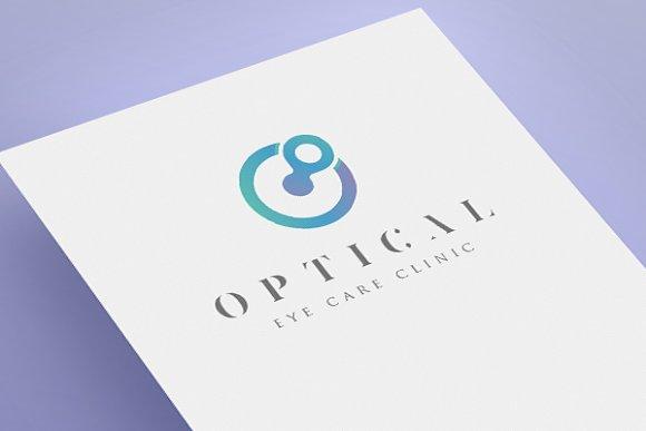 Optical Eye Care Logo