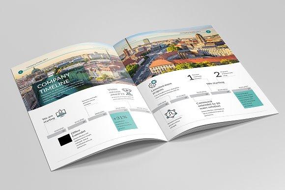 company profile brochure 2017 brochure templates creative market