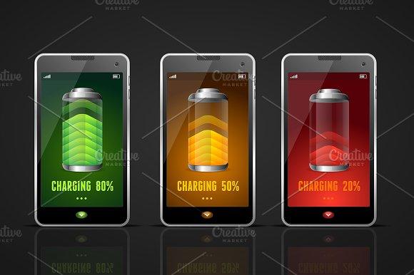 Charging Batteries Phone
