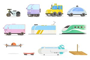 Modern Vehicles Set
