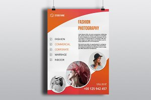 Photography Flyer Template-V487