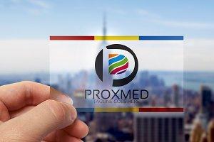 Prox Medya/ P Letter Logo