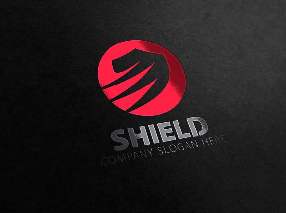 Shield Logo ~ Logo Templates ~ Creative Market