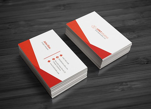sync  simple business card template  creative business