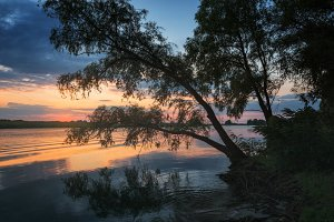 Svidivok. Dawn on the Dnieper