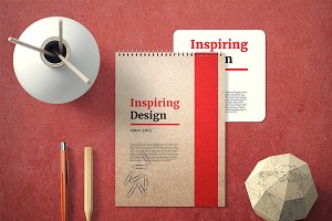 Notebook Cover Mock-Up Set