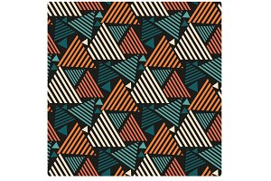 Geometric Pattern Triangles