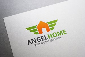 Angel Home Logo
