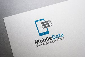 Mobile Data Logo