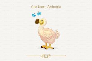 ♥ vector dodo & butterflies