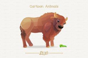 ♥ vector bison & papilio troilus