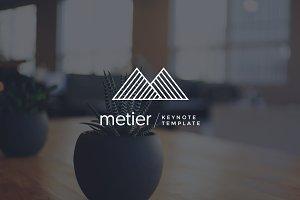 Metier - Keynote Template