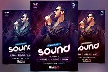 Sound - Club PSD Flyer Template