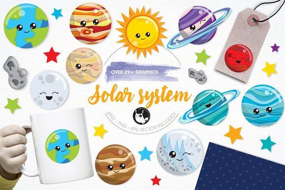 Solar System Illustration Pack