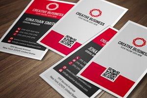 Modern Corporate Business Card CM020