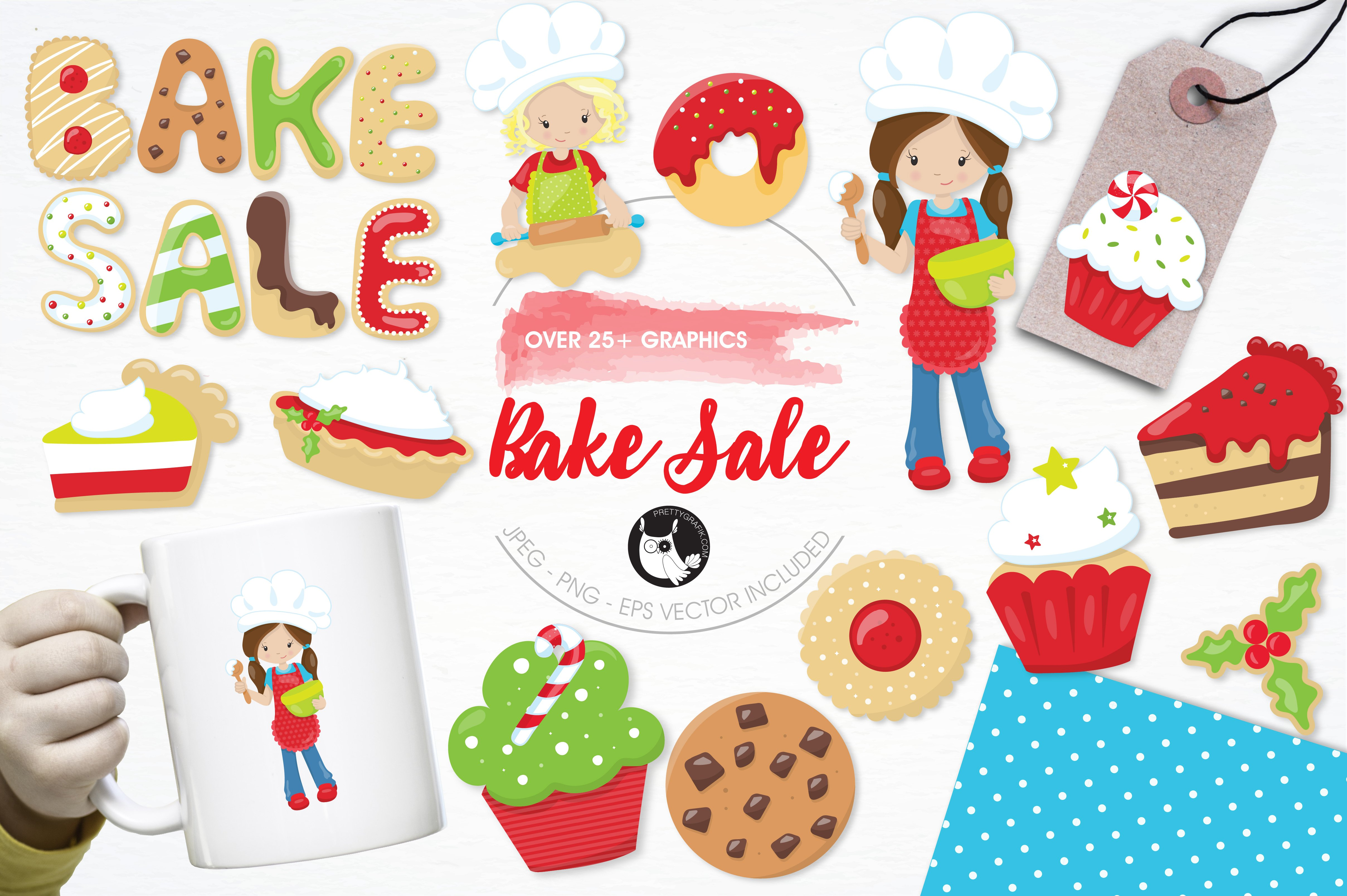 baking icons photos graphics fonts themes templates creative bake illustration pack
