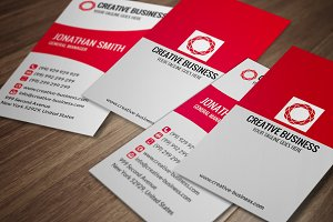 Modern Corporate Business Card CM022