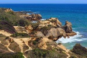 Algarve summer coast, Portugal