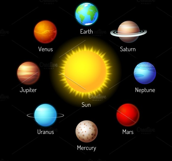 planets ~ Icons ~ Creative Market