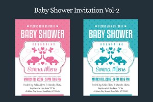 Baby Shower Invitation Vol-2