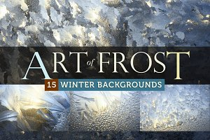 Art of Frost - 15 Winter Backgrounds