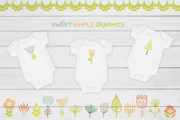 Cute Baby Woodland Graphics in Illustrations - product preview 1
