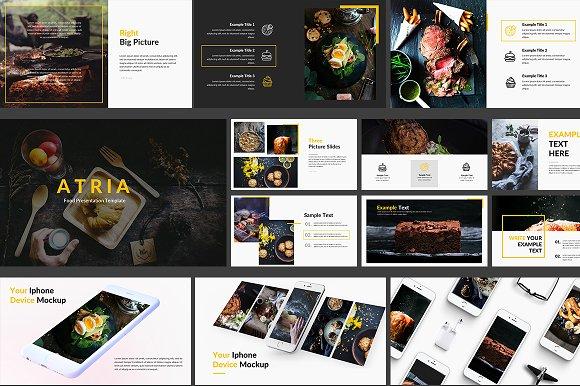Food Powerpoint Template Presentation Templates Creative Market
