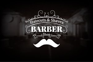 Barber Shop Logo 90% OFF
