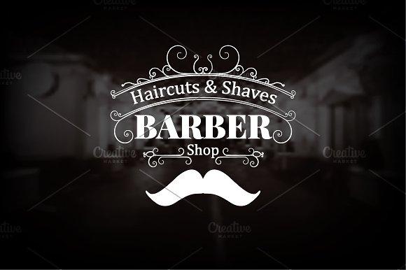 Barber Shop Logo 50% OFF