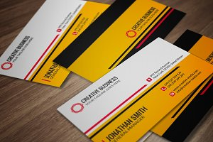 Modern Business Card CM030